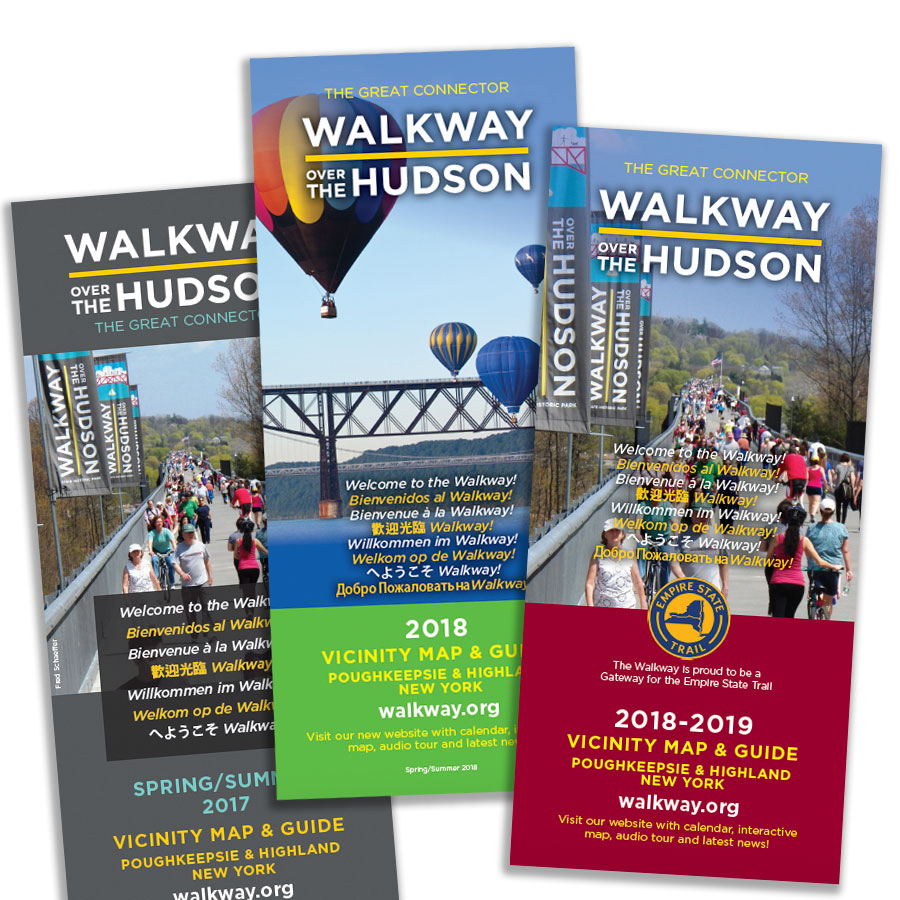 Walkway Over the Hudson Vicinity Maps